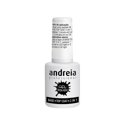ANDREIA ALL IN ONE BASE/TOP COAT - 2 IN 1 10,5 ML